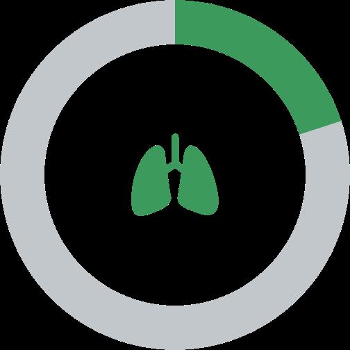 Lung Utilization Chart